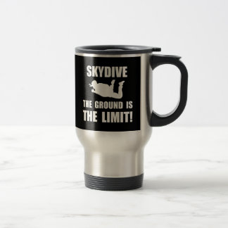 Skydive Ground Limit Stainless Steel Travel Mug