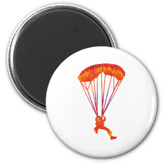 SKYDIVE NEW SOUL 6 CM ROUND MAGNET
