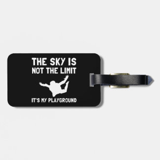 Skydive Playground Luggage Tag