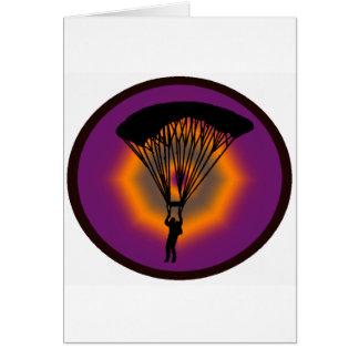 SKYDIVE PURPLE SKIES CARD