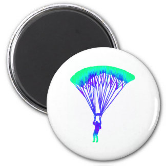 SKYDIVE THE VISION 6 CM ROUND MAGNET