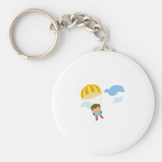 Skydiver Keychains