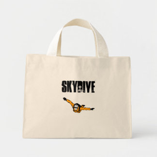 Skydiver Simple Highball Blog, SKYDIVE Mini Tote Bag