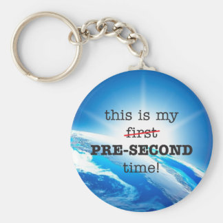 "Skydiving B.A.S.E. ""First"" Pre-Second Keychain"