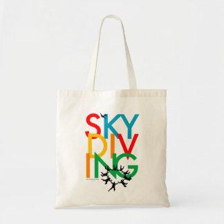 Skydiving Budget Tote Bag