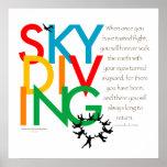 Skydiving Desire Poster