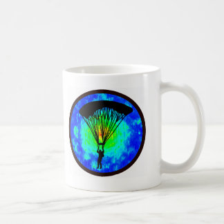 SKYDIVING EARTH VIEW COFFEE MUG