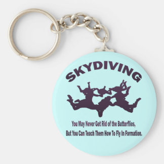 SKYDIVING KEYCHAIN