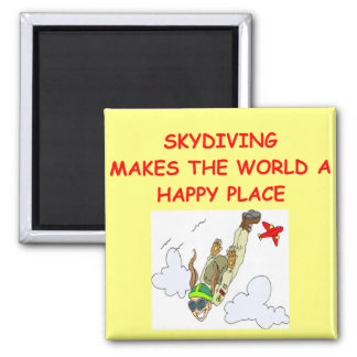 skydiving square magnet