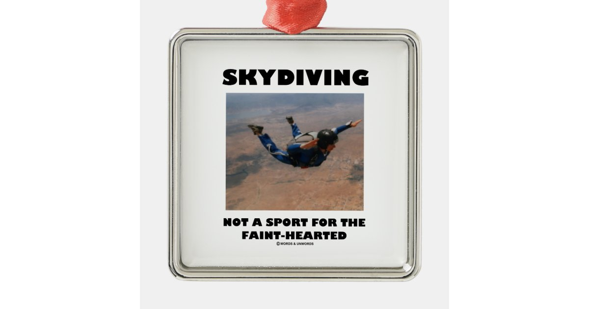 Skydiving Not A Sport For The Faint-Hearted Christmas ...