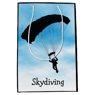 Skydiving Parachuting Design Gift Bag