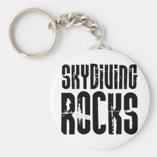 Skydiving Rocks Key Ring