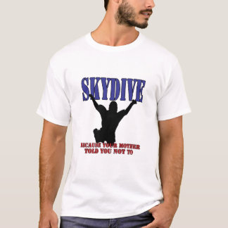 Skydiving Shirt Silhouette
