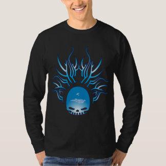 Skydiving Skull T-Shirt