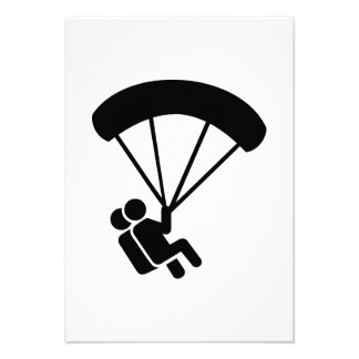 Skydiving tandem personalized announcements