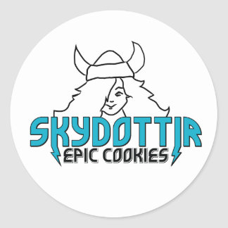 Skydottir Epic Cookies girl stickers
