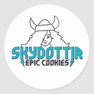 Skydottir Epic Cookies monster girl sticker