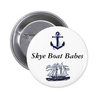 Skye Boat Babes button #2 2 Inch Round Button