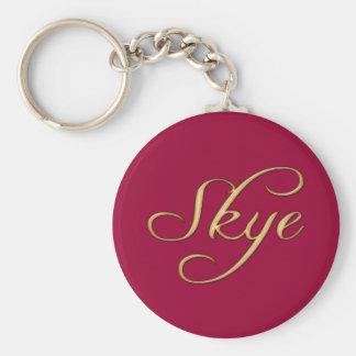 Skye Name-Branded Gift Item Key Chains