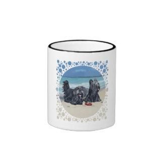 Skye Terriers, Beach Day! Coffee Mug