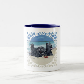 Skye Terriers, Beach Day! Mug