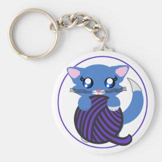 Skye Toon Kitty Kitten Keychain