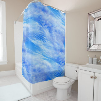 Skying Shower Curtain