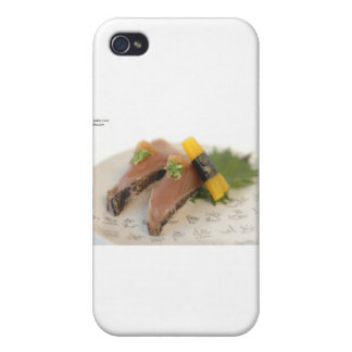 Skyjack Tuna Sushi Gifts & Cards Cover For iPhone 4