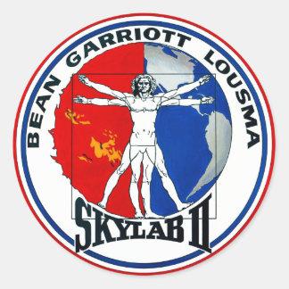 Skylab 2 Mission Patch Classic Round Sticker