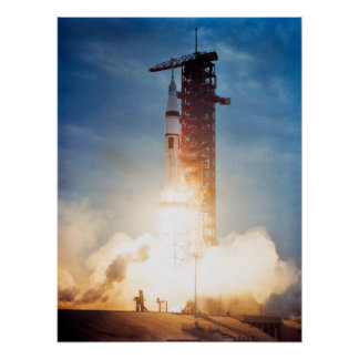 Skylab 3 Launch Poster