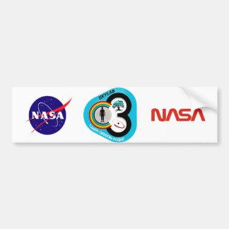 Skylab 3 Mission Patch Bumper Sticker