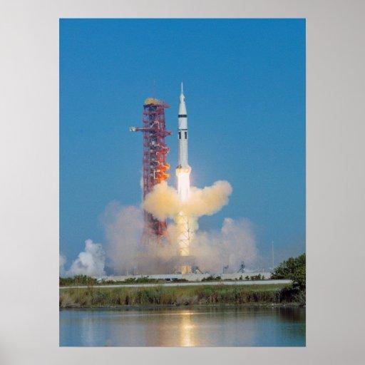 Skylab 4 Launch Poster