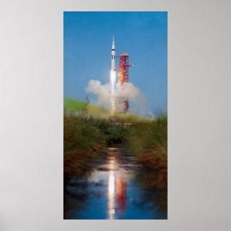 Skylab 4 Launch Print