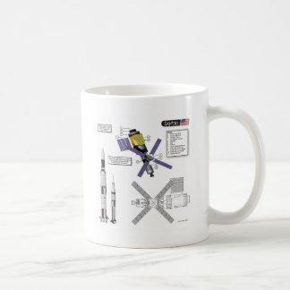 Skylab Illustration Coffee Mug