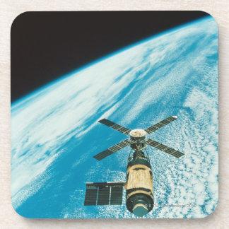 Skylab over Earth Coasters