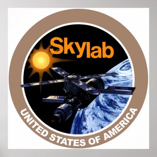 SKYLAB Program Logo Posters