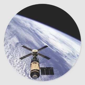 Skylab Round Sticker