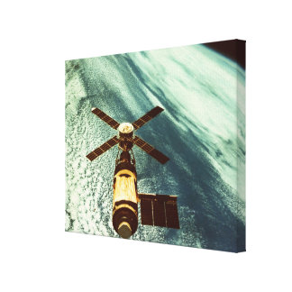 Skylab Space Station in Space Gallery Wrapped Canvas