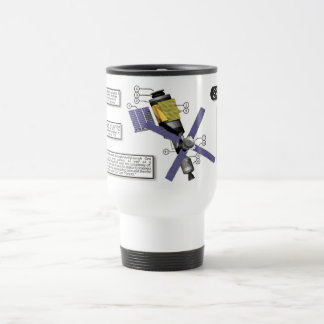 Skylab Space Station Mug