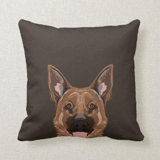 Skylar - German Shepherd dog gifts for dog people Cushion