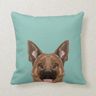 Skylar - German Shepherd gifts for dog people dog Cushion