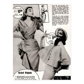 Skylark Original Dress Designs Postcards