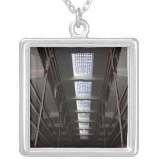 Skylight at Alcatraz Prison Necklace