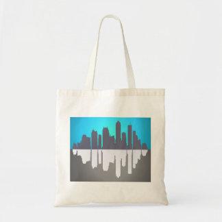 Skyline abstract. tote bag