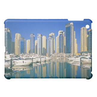 Skyline and boats on Dubai Marina Cover For The iPad Mini