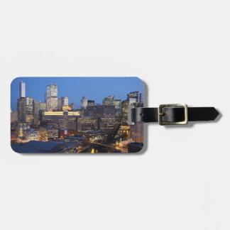 Skyline and River Luggage Tag