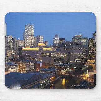 Skyline and River Mouse Pad