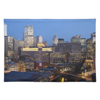 Skyline and River Placemat