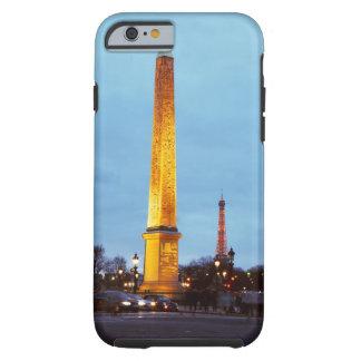 Skyline at dusk of 'Place de la Concorde' with Tough iPhone 6 Case