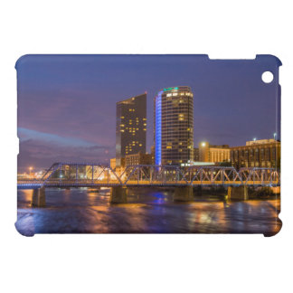 Skyline At Dusk, On The Grand River Case For The iPad Mini
